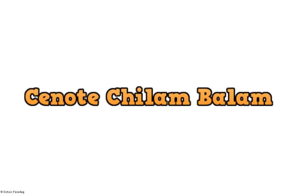 Cenote-Chilam-Balam