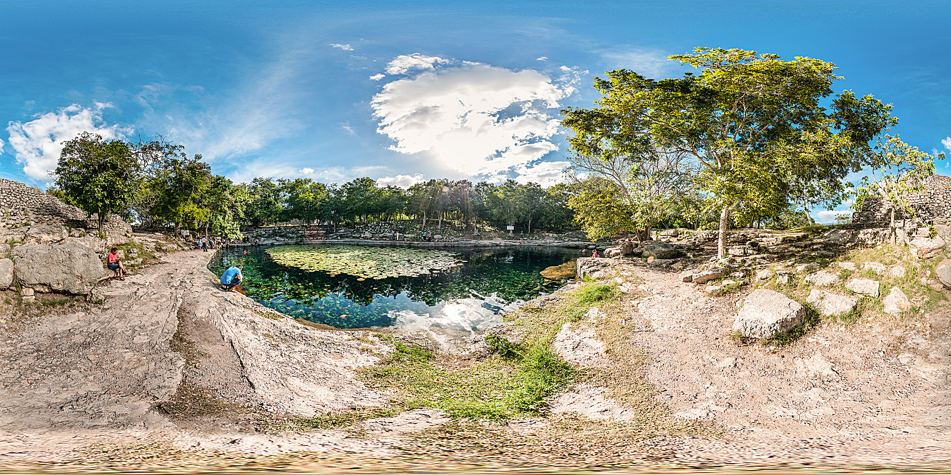 Cenote Xlakah - Dzibilchaltun