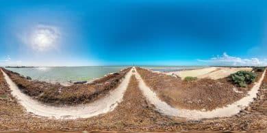 Der Strand von Chuburna