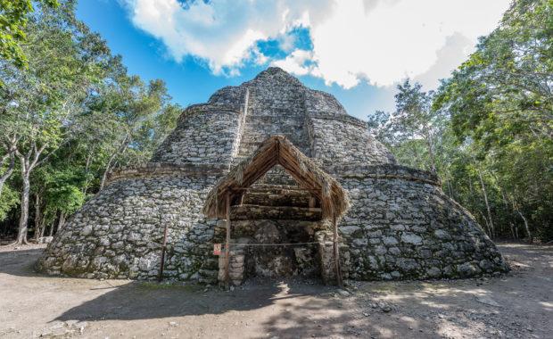 Mayastätte Cobá in Quintana Roo
