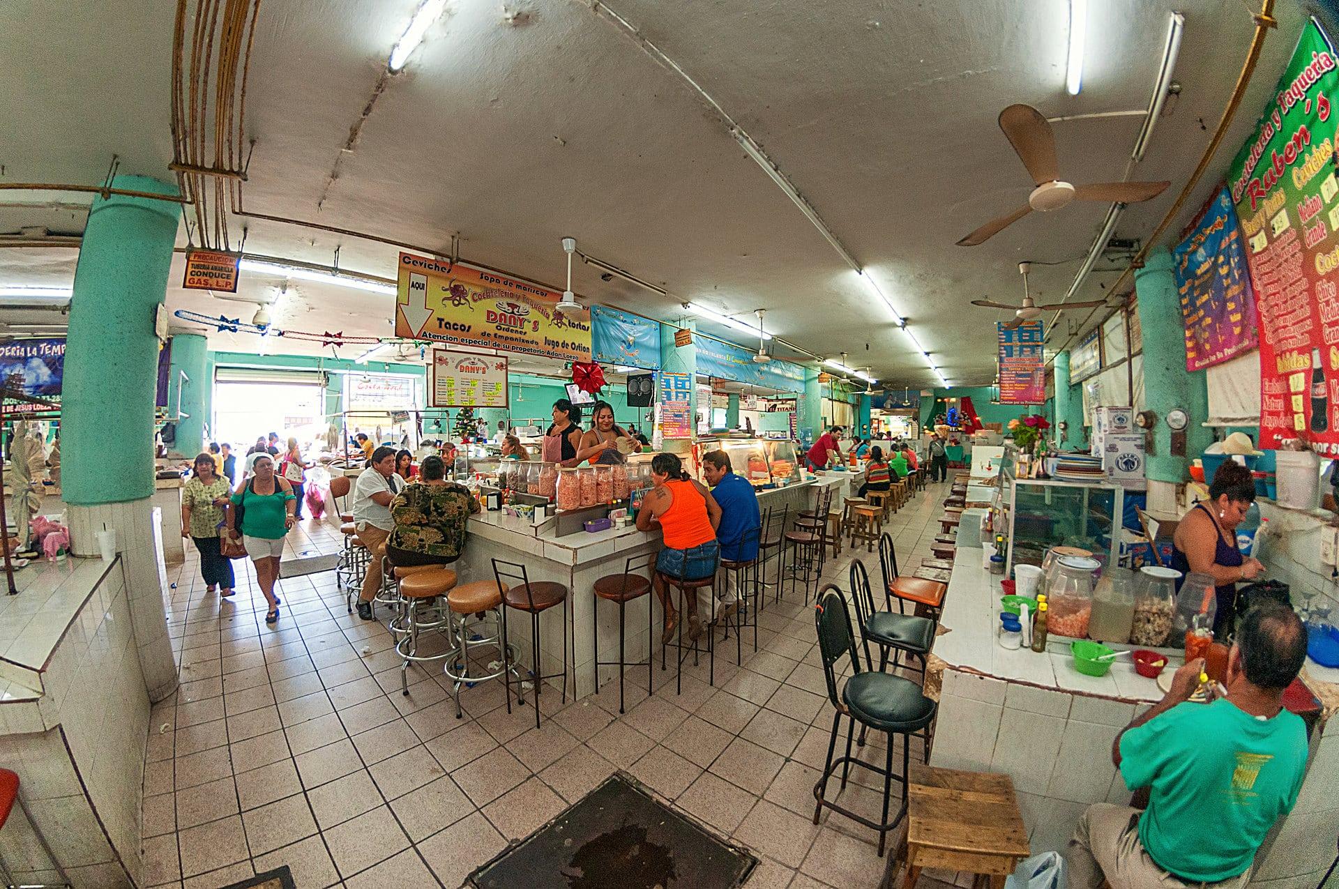 Der Mercado (Markt) von Mérida