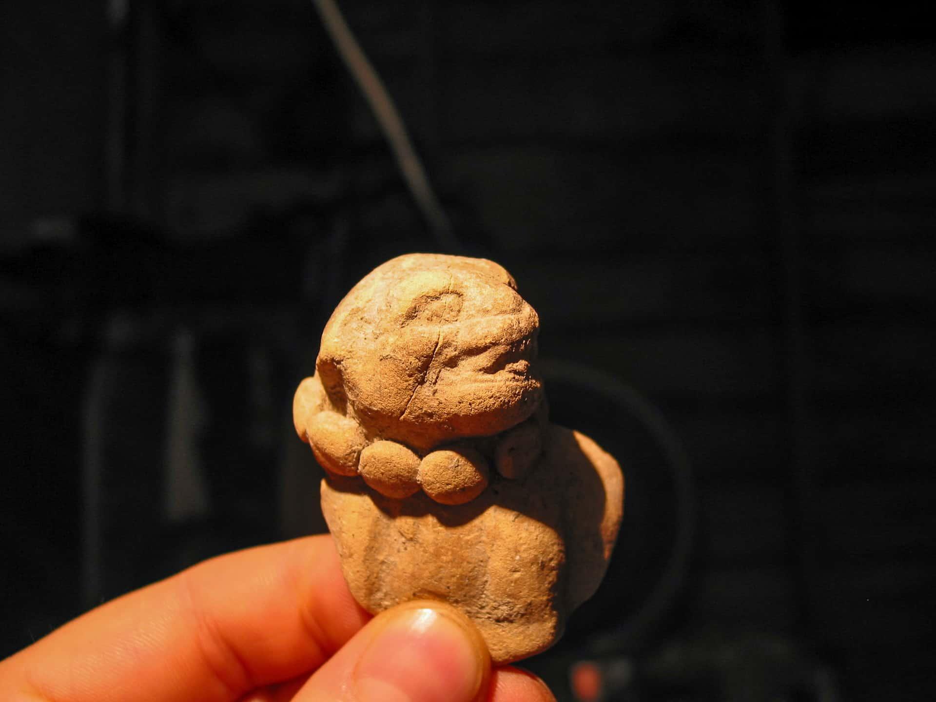 Maya-Figur