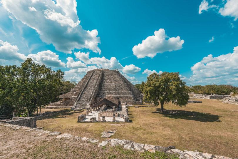 Mayapán - Maya-Ruinenstadt in Yucatán