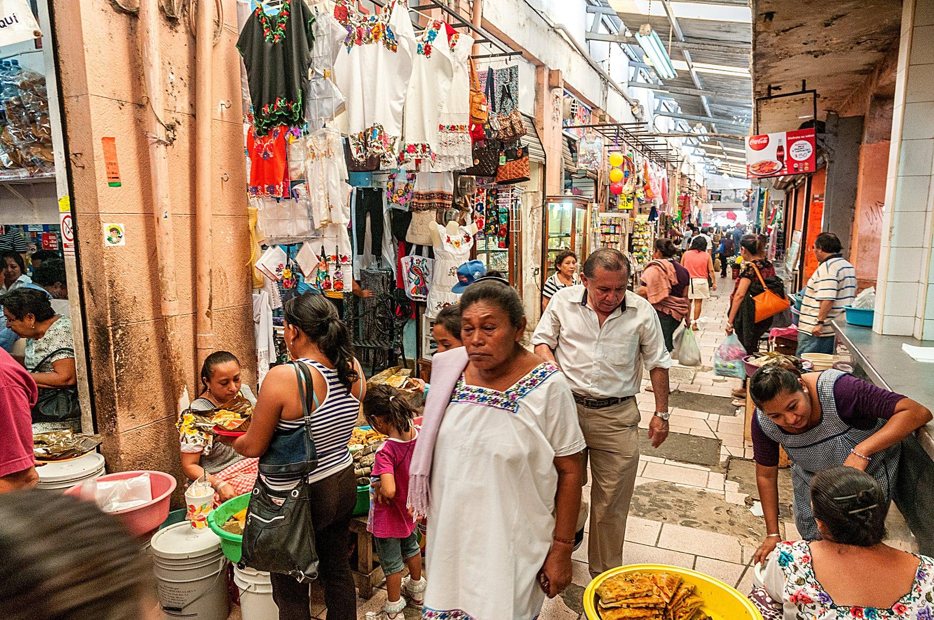 Mercado von Mérida