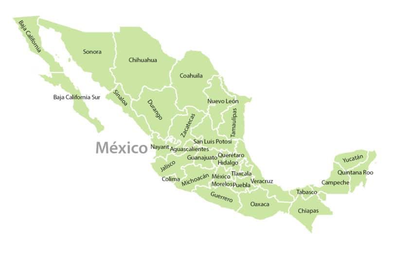 México Bundestaaten