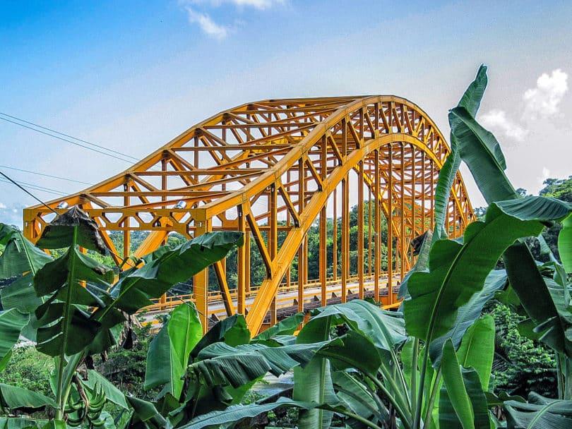 Mexiko Tenosique - Die Brücke Boca del Cerro