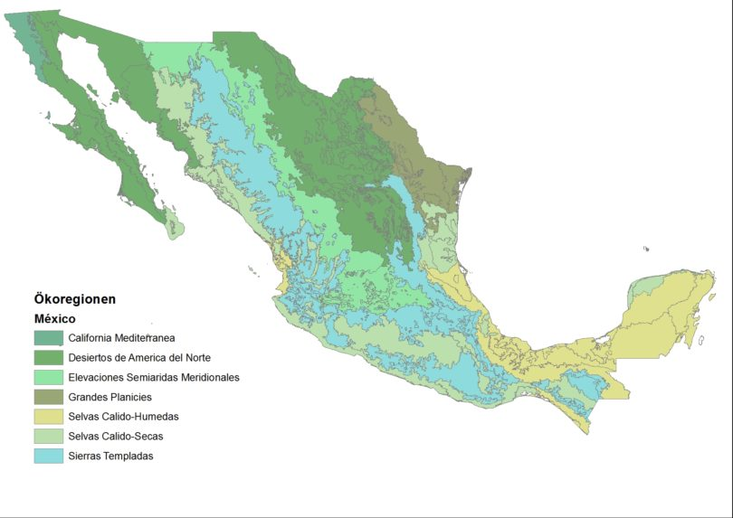 Oekoregionen-Mexiko