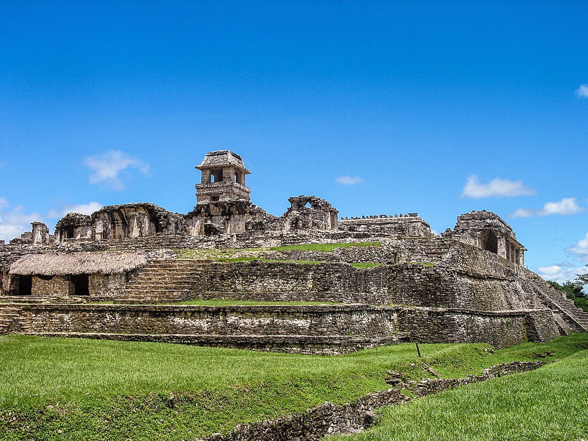 Der Palast von Palenque