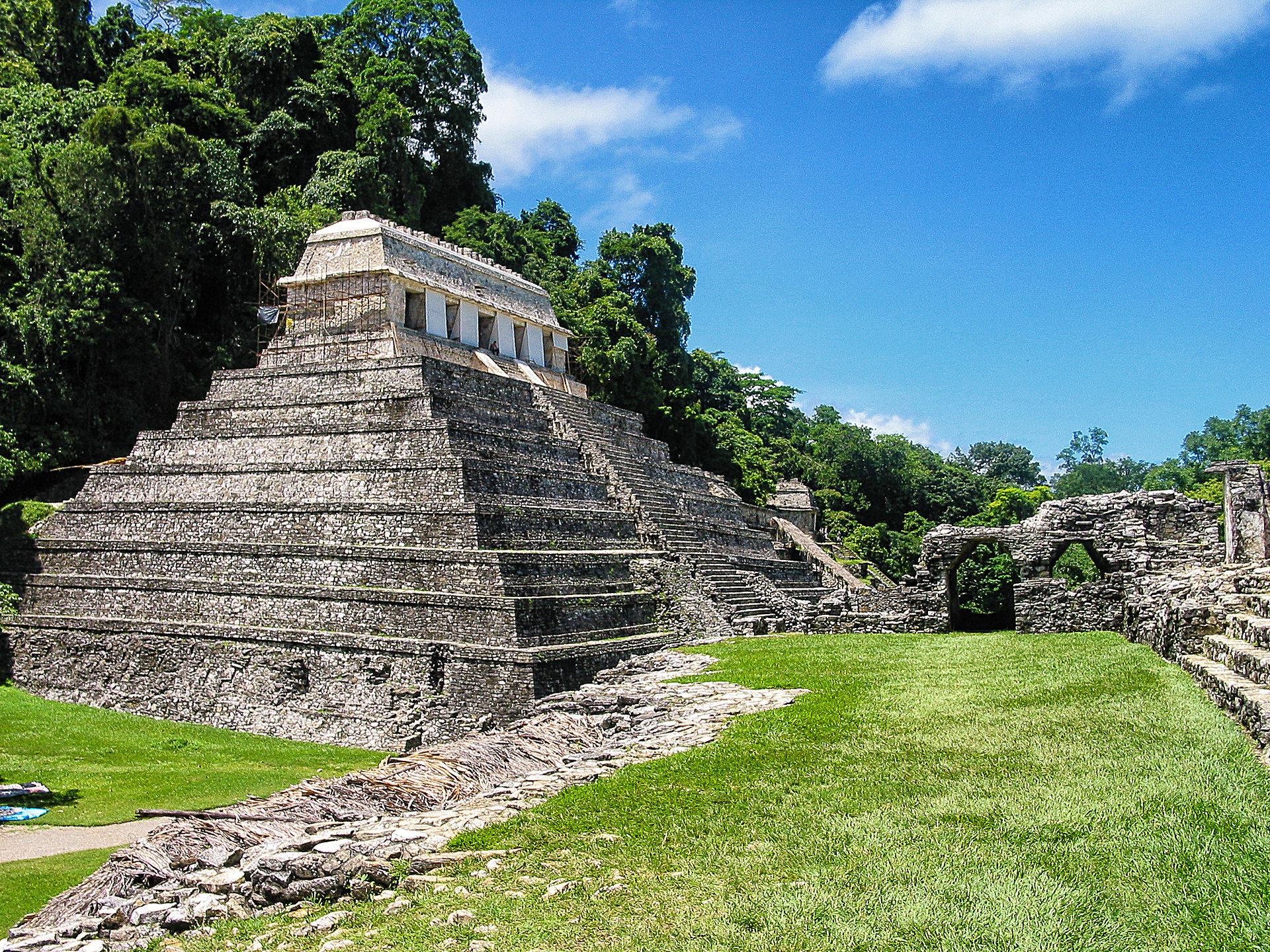 Die Ruinen Palenque