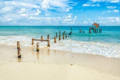 Strand bei Cancun