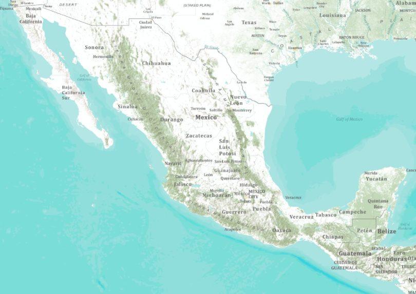 Topo-Mexico
