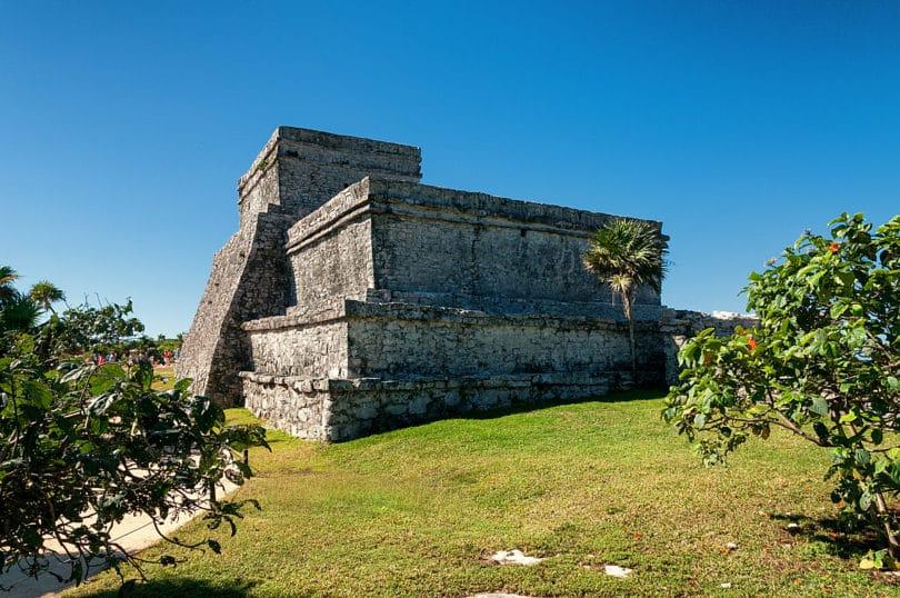 Tulum - El Castillo Rückseite