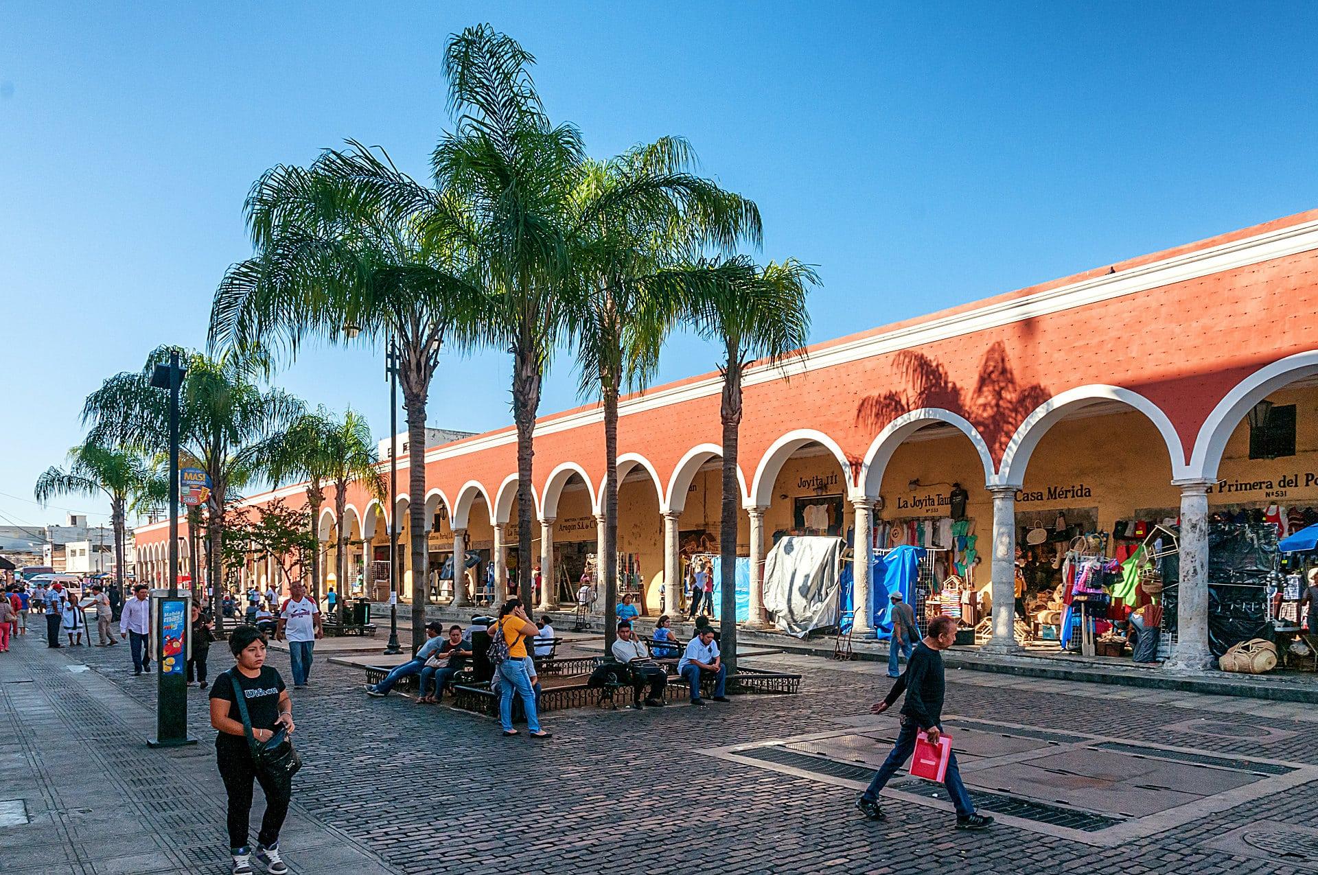 Mercado im Zentrum von Mérida