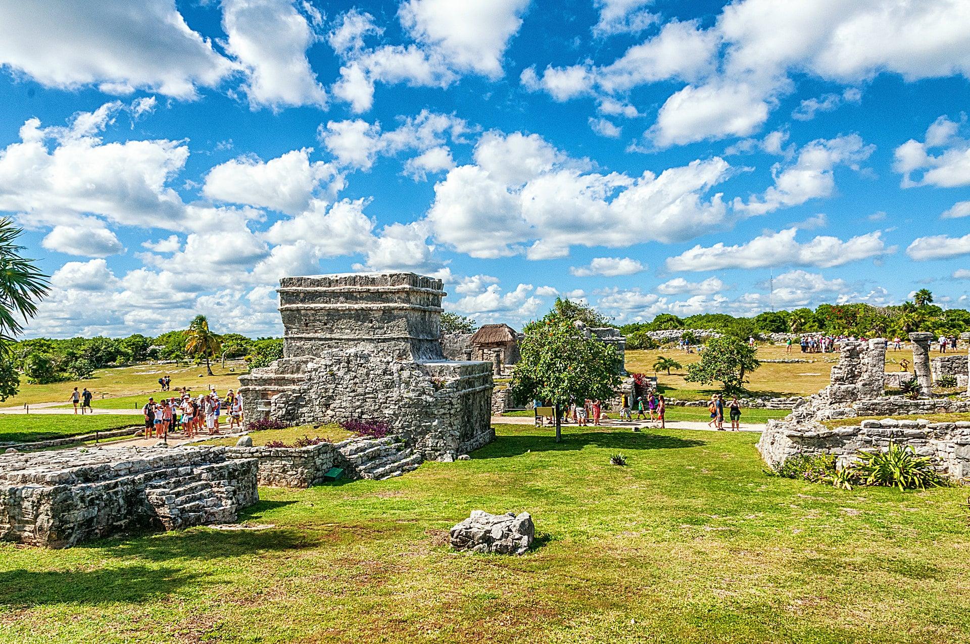 Die archäologische Stätte Tulum